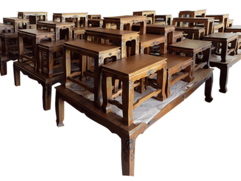 โต๊ะหมู่บูชาคลาสสิค (Thai-Buddhist-Altar-Classic)