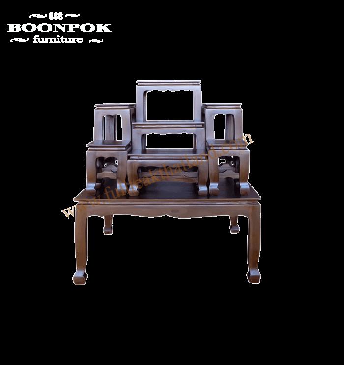 โต๊ะหมู่บูชาไม้สัก7×7
