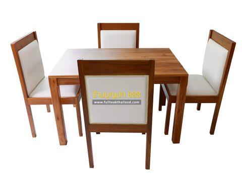 โต๊ะกินข้าวไม้สักสวยๆ